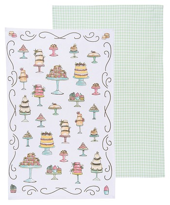 Just Desserts Dishtowels <br> Set of 2