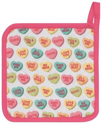 Sweet Hearts Potholder