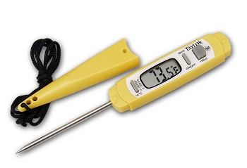 Anti-microbial Pen Style Pocket Thermometer
